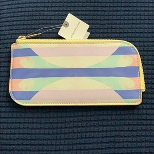 Anthropologie Card wallet NWT